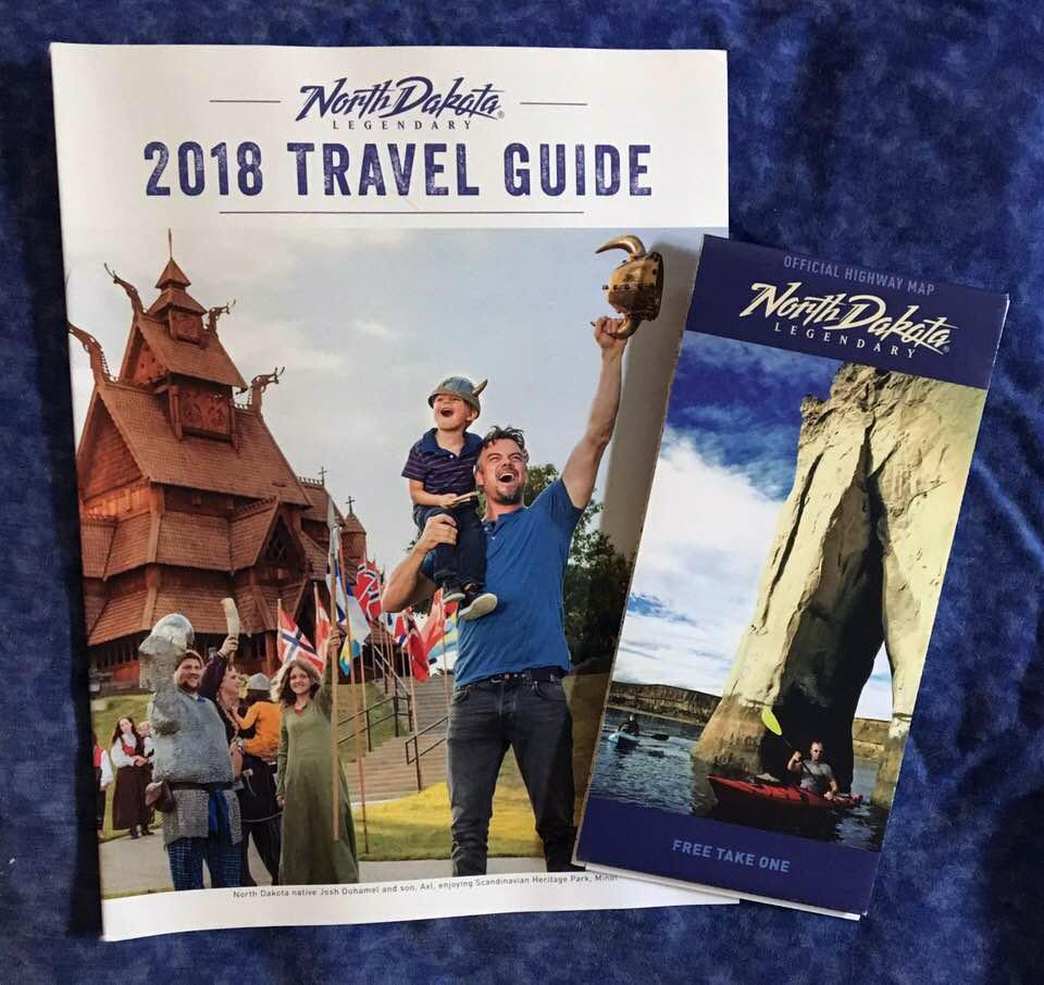 FREE North Dakota Travel Guide & Road Map