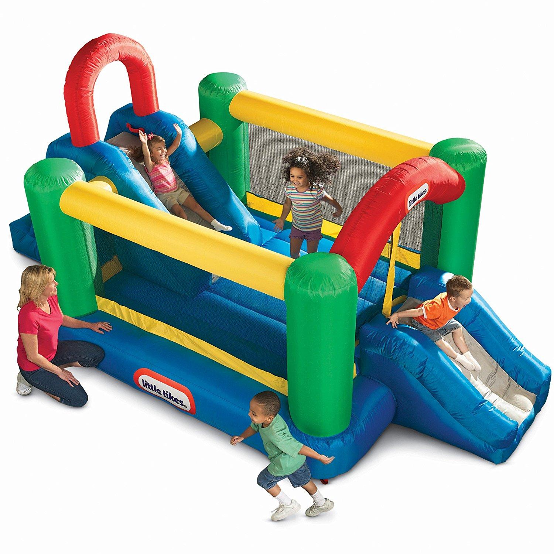 3b601645be57 Little Tikes Jump n Double Slide Bouncer Only  235 (Reg.  300)