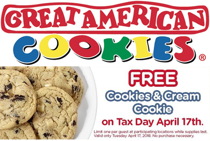 Great american cookie coupon code 2018