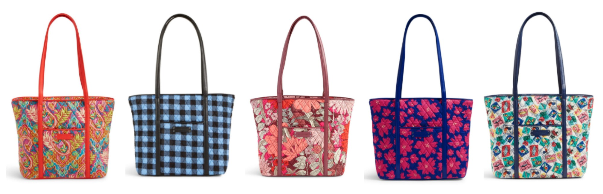 6d592d8b0d You can score this Vera Bradley Small Trimmed Vera Tote Bag for only   29.99! Plus shipping is FREE! Wow!
