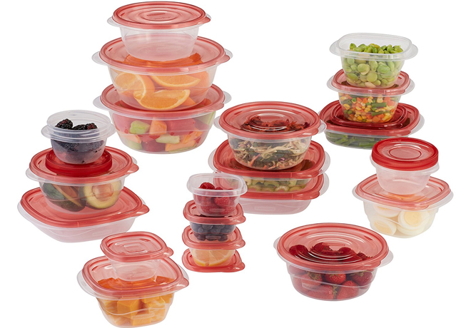 Pack of 40 Rubbermaid Food Storage Containers ONLY 999