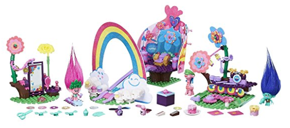 Calling All Trolls Fans Right Now At Amazon Or Walmart You Can Score This Poppys Coronation Party Building Set For Only 1062