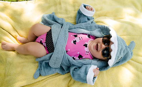 ecfb51d7f7 Right now Tanga has this adorable Pollywog Baby Shark Terry Cloth Towel Robe  for only  15.99! This robe would make a wonderful baby shower gift idea!