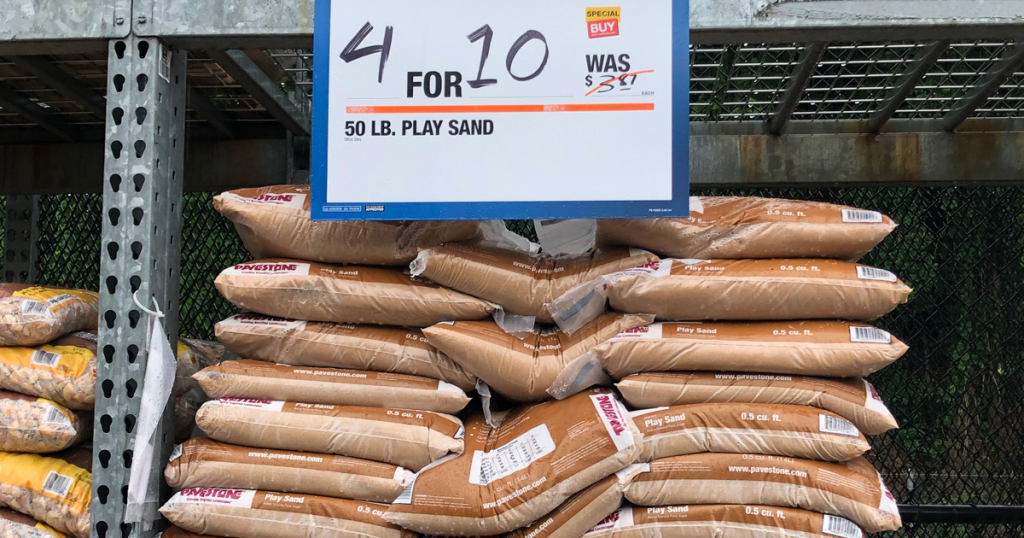 Home Depot Play Sand 50 Lb Bags Only 2 50