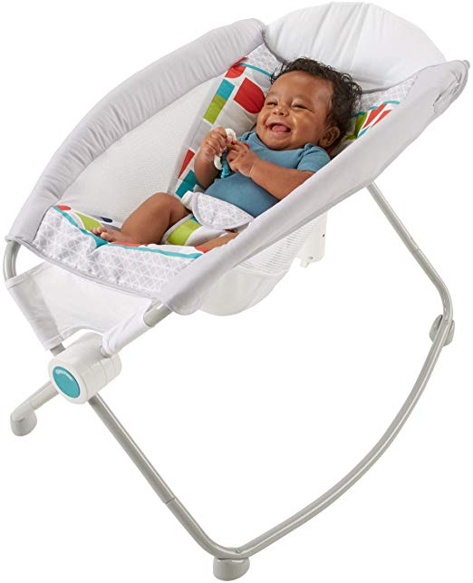 Fisher Price Auto Rock N Play Sleeper Only 55 99 Shipped Reg 80