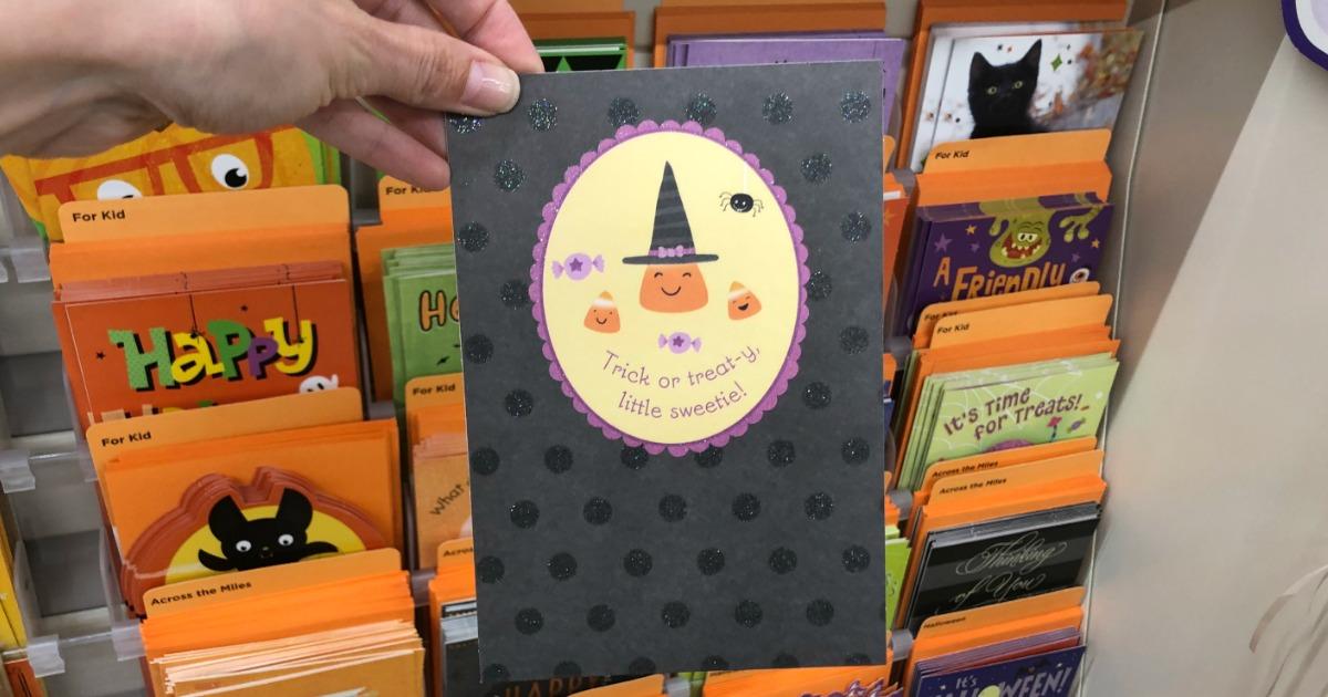 dollar tree hallmark halloween cards as low as. Black Bedroom Furniture Sets. Home Design Ideas