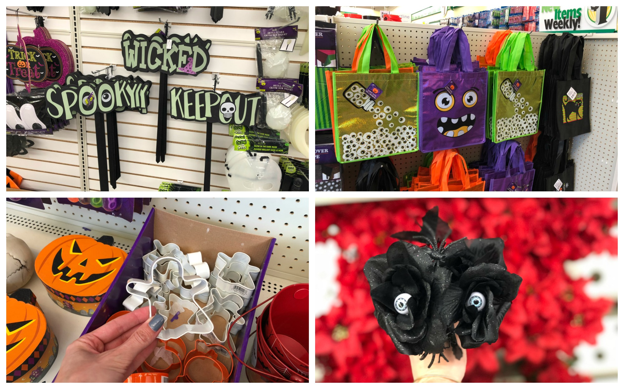 Dollar Tree Halloween Decorations ly $1 00