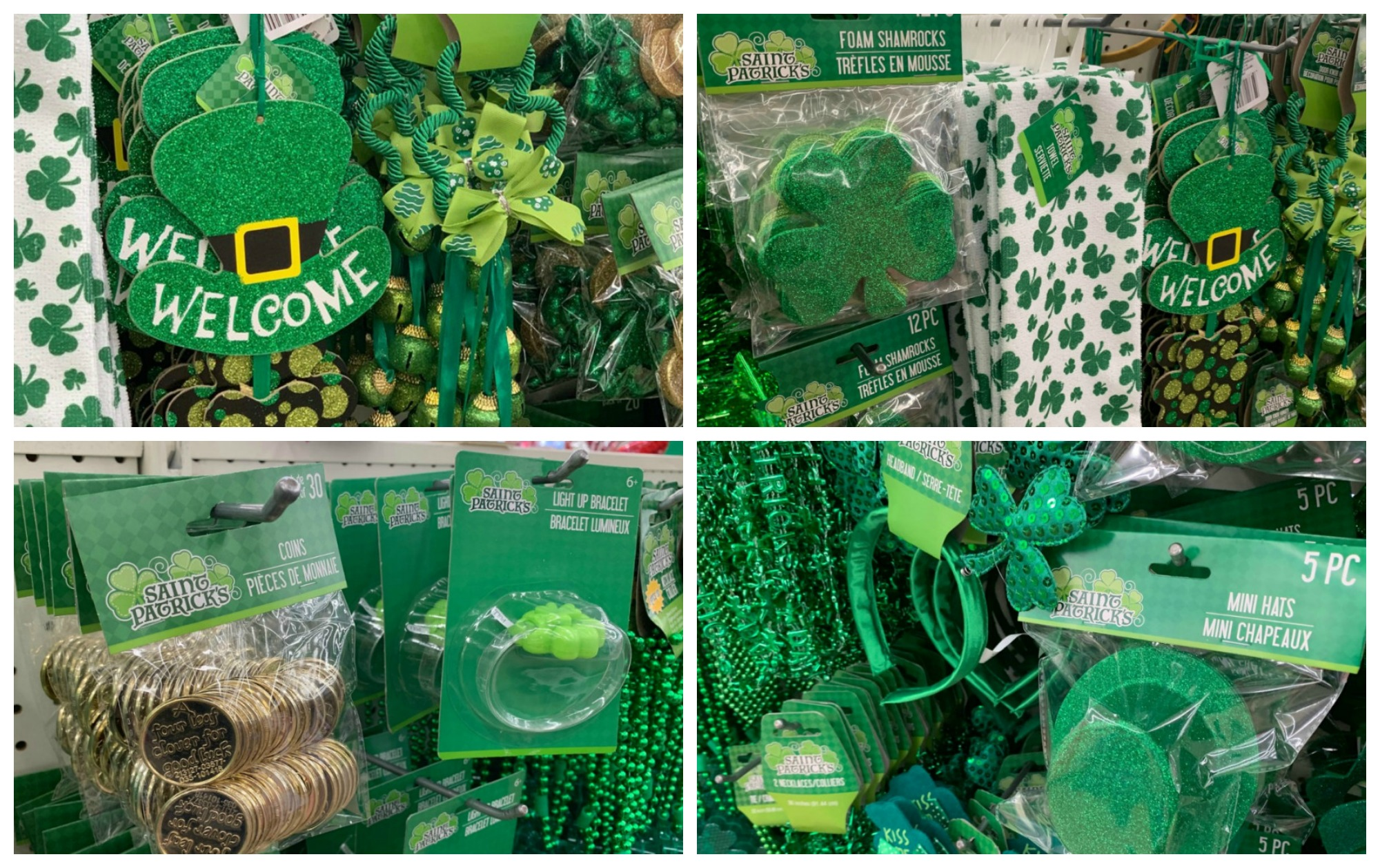Dollar Tree St Patrick S Day Decor Only 1 00