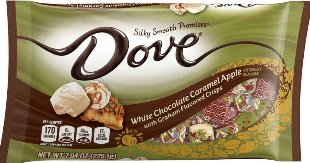 Target Dove White Chocolate Caramel Apple Laydown Bags Only